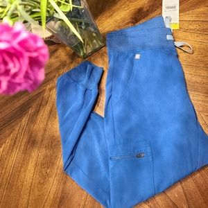 BNWT Figs Limited edtion Royal Blue Jogger pants!